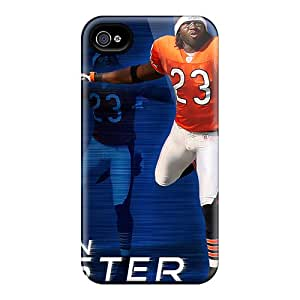 Iphone 6 MzF1541srKF Provide Private Custom Beautiful Chicago Bears Pattern Scratch Resistant Hard Cell-phone Cases -RitaSokul