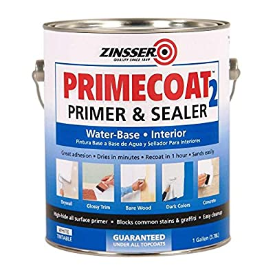 1-gal. White PrimeCoat 2 Water Interior Primer and Sealer (4-Pack)