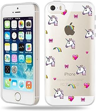 Coque iphone 5 5S Se Licorne Coeur Unicorn Cute Kawaii ...