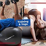 URBNFit Exercise Ball (65 cm) for Stability & Yoga