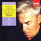 Music : Meditation. Overtures & Intermezzi. Anne-Sophie Mutter. Berlin Philharmonic. Herbert von Karajan