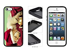 Cute Santa Dog TPU RUBBER SILICONE Phone Case Back Cover Apple iPhone 5 5s