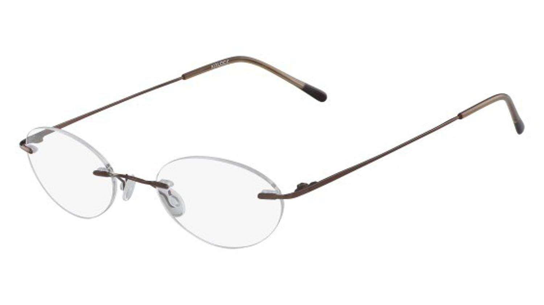 Eyeglasses MARCHON AIRLOCK AL SEVEN SIXTY 210 COFFEE