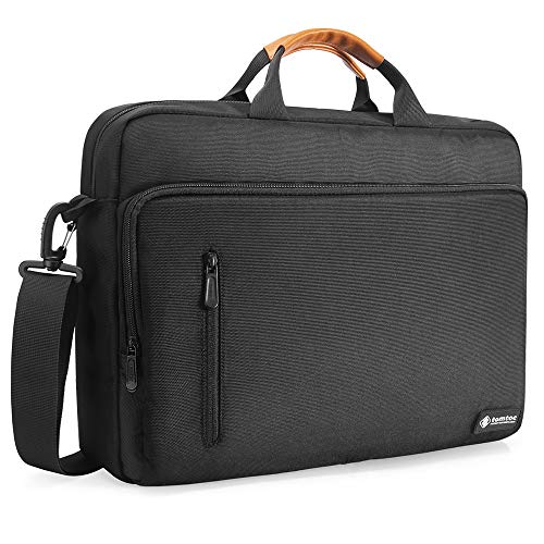 tomtoc Laptop Shoulder Bag, Messenger Bag for 13 Inch MacBook Pro and MacBook Air, 13.5 Inch Surface Book, Multi-Functional Laptop Briefcase for Dell XPS Lenovo ThinkPad Acer HP Notebook Computer