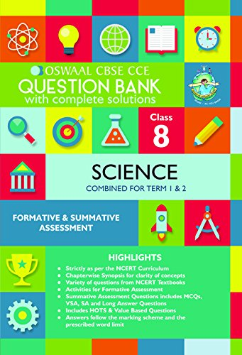 Amazon com: Oswaal CBSE CCE Question Banks Science For Class 8 eBook