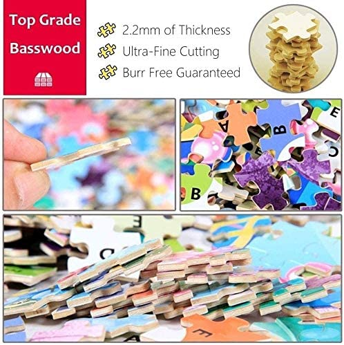 1000 stukjes houten puzzel voor volwassenen/kinderen, educatieve decompressie speelgoedpuzzel (Scenic Potala), afwerking maat 70 * 50 Rk8i5ehs