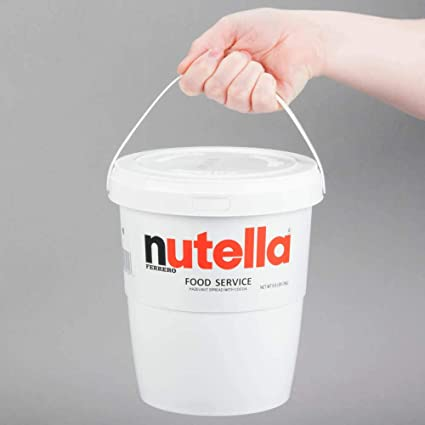 Amazon Com Nutella Hazlenut Chocolate Spread 3kg Grocery