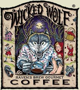 Ravens Brew Whole Bean Wicked Wolf, Dark Roast 5-Pound Bag