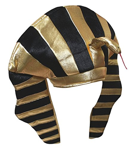 Petitebella Party Costume Hat Unisex Free Size (Pharaoh(Adult)) -