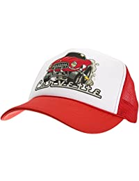 a2c4d7a3afb Chevrolet - Mens Chevrolet - Corvette Logo Trucker Cap White · Old Glory
