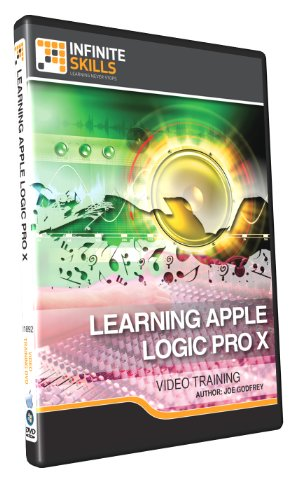 Learning Apple Logic Pro X - Training DVD (Logic Pro X Software compare prices)