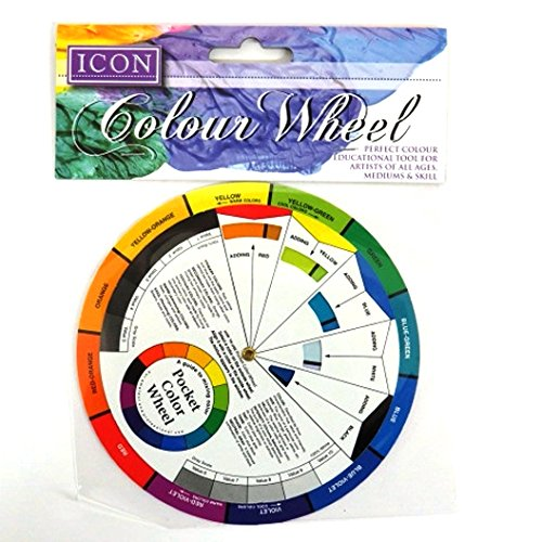 Premier Stationery Icon 13 cm Pocket Colour Wheel (Color Wheel Mixing Guide)