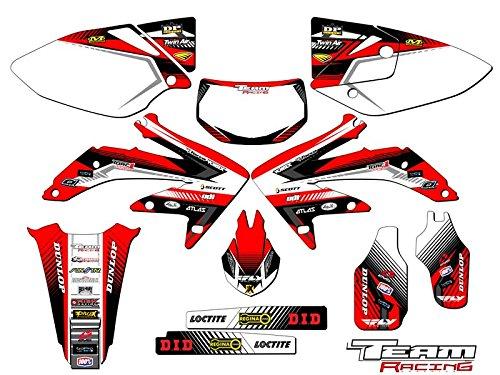 Team Racing Graphics kit for 2005-2017 Honda CRF 450X, ANALOG
