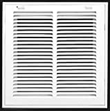 "12"" X 12 Steel Return Air Filter Grille for 1"" Filter - Removable"