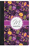 Halloween Genuine Leather Passport Cover (Personalized)
