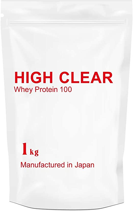 Amazon | HIGH CLEAR さっぱりアップル風味 WPC100 1kg(約40食分) | HIGH CLEAR (ハイクリアー) |  ホエイプロテイン