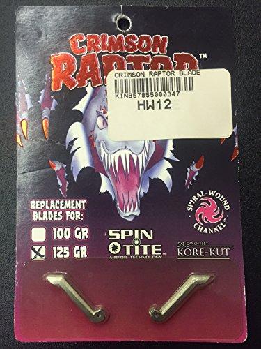 Raptor Repl Blade 125Gr