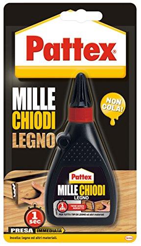 Pattex 1864203 Millechiodi Legno, 100g