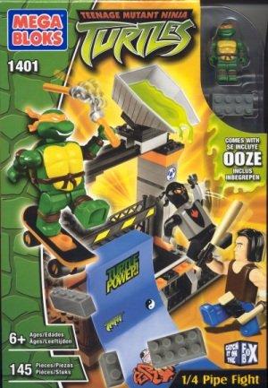 Mega Bloks Tortugas Ninja Mutantes para Adolescentes, 1/4 de ...