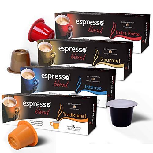Kit Cápsulas Café Espresso Blend
