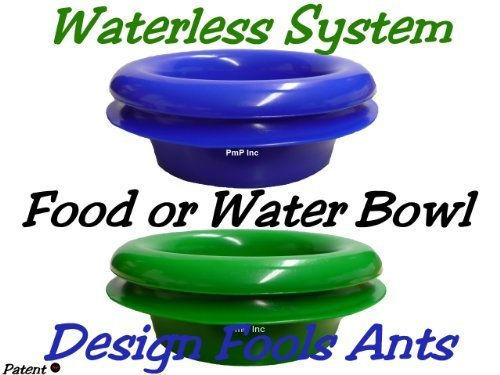 Ant Free Pet Bowls, Pack of 2 Ant Free Pet Bowl