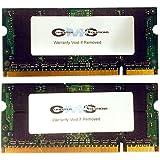 4GB (2x2GB) Memory RAM Upgrade for Compaq HP Presario CQ50-215NR, CQ62-219WM by CMS (A39)