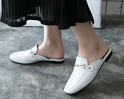 Mules Femme HiTime Blanc Mules HiTime HiTime Femme Mules Blanc n0qTaY