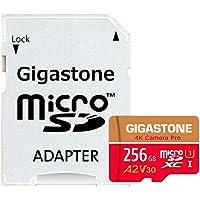 Cartão Memória Micro SDXC 256GB Câmera Pro Gigastone e Adapt