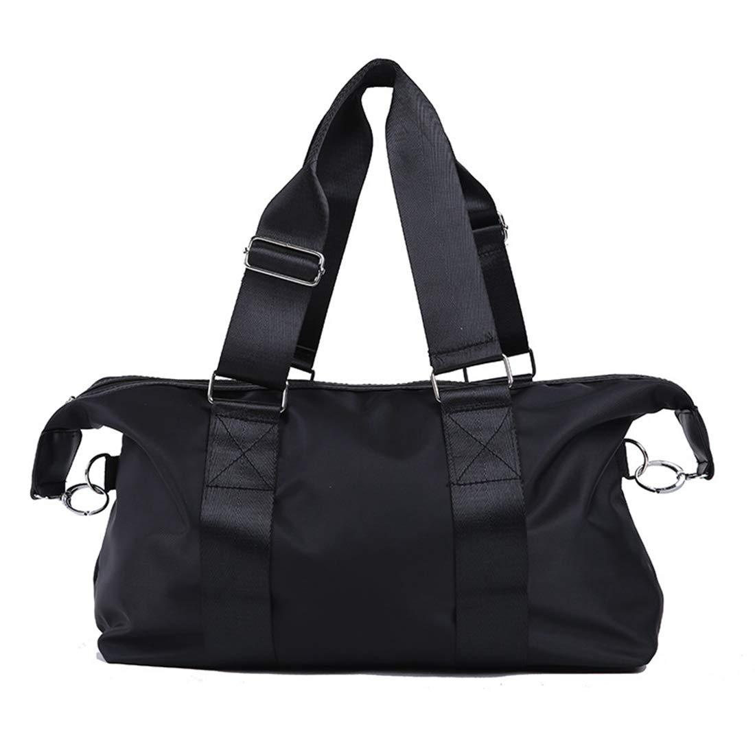 Carriemeow Luggage Sports Bag Waterproof Large-Capacity Handbag Oxford Cloth Nylon Diagonal Package Female Travel Bag Short-haul Handbags Business Travel Package Large Female Duffel Bag
