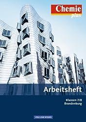 Chemie plus - Neue Ausgabe - Brandenburg (alle Schulformen): 7./8. Schuljahr - Arbeitsheft mit eingelegten Lösungen