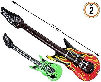 Atosa Cart. Guitarra 90X22 CM Hinchable 2 ST, 38837: Amazon.es ...