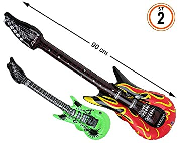 Atosa Cart. Guitarra 90X22 CM Hinchable 2 ST, 38837: Amazon.es ...