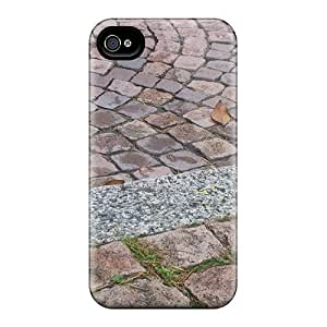 For Wade-cases Iphone Protective Case, High Quality For Iphone 4/4s Asphalt Skin Case Cover