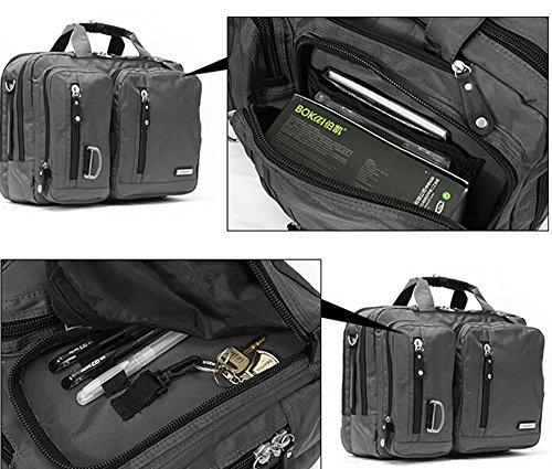 Bronze Times (TM) 17.3 Inch Business Travel Gear Laptop Shoulder Bag Backpack (Black) by Bronze Times (Image #7)