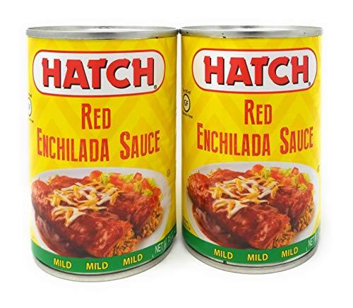 (Hatch Chile Company Red Enchilada Sauce Mild 15oz QTY 2)