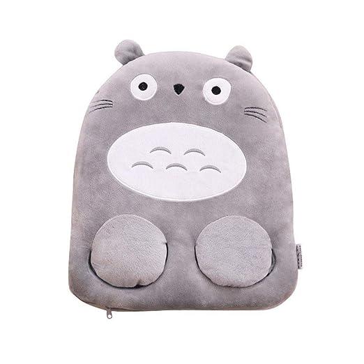 Calentador De Pies Calienta Pies Electrico Calefactables Calentadores De Calcetines con USB para El Patrón Totoro, Felpa Suave Y Fue