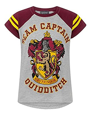 HARRY POTTER Quidditch Team Captain Girl's T-Shirt