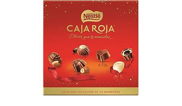 Nestlé Caja Roja - Bombones de Chocolate Surtidos - 200 g - [paquete de 2]: Amazon.es: Alimentación y bebidas