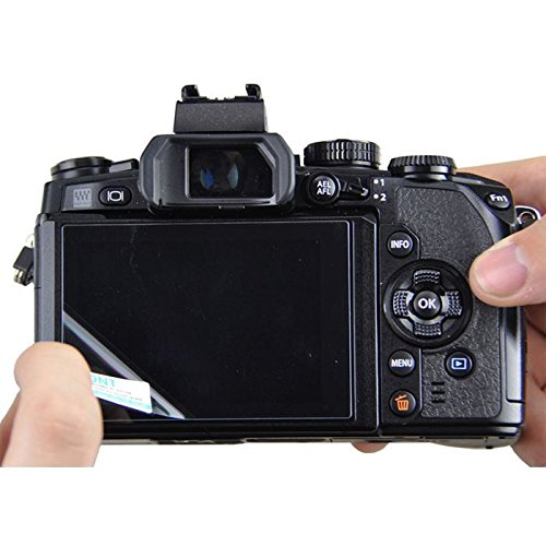 JJC GSP-A6000 Tempered Toughened Optical Glass Camera Screen Protector 9H Hardness Anti-Bubble Anti-scratch Anti-burst Anti-fingerprint Ultra-thin Super Light Transmittance For Sony A6000 Digital Camera