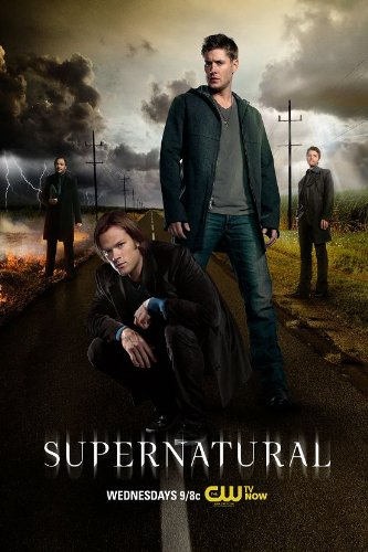Amazon supernatural season 9 8 7 sam dean jared jensen car supernatural season 9 8 7 sam dean jared jensen car nice silk fabric cloth wall poster voltagebd Image collections