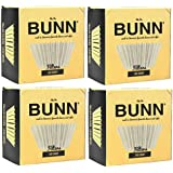 BUNN BCF100-B 100-Count Basket Filter (Pack of 4)...