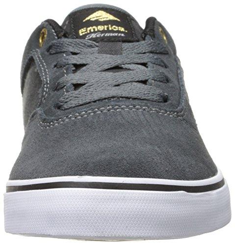 The Skateboard Emerica Shoe G6 Grey Men's White Herman Vulc Dark SwxFgqa