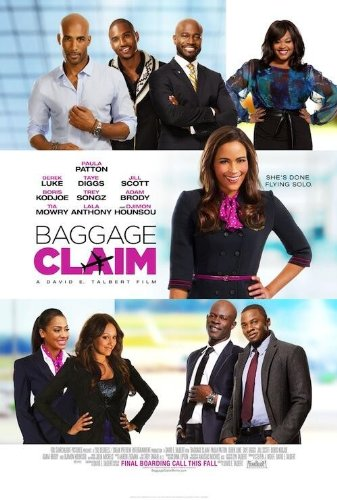 BAGGAGE CLAIM - Movie Poster - Double-Sided - 27x40 - Original - PAULA PATTON - JILL SCOTT - TAYE - Taye Diggs Poster