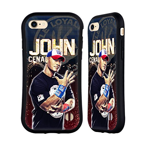 Superstar John Cena - Official WWE John Cena Superstars Hybrid Case for Apple iPhone 7 / iPhone 8