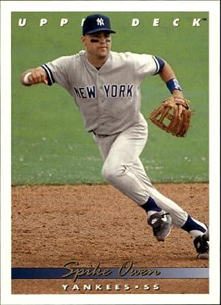 Amazoncom 1993 Upper Deck Baseball Card 548 Spike Owen