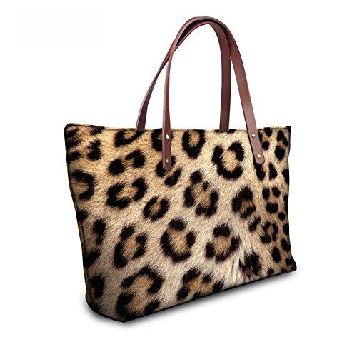 Casual Handbags FancyPrint Women Tote leather C8wc0451al Bages qwIBHUnI