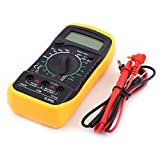 Digital Multimeters DC AC Voltmeter Resistance Current Ohm Pocket Tester Meter with Backlight LCD