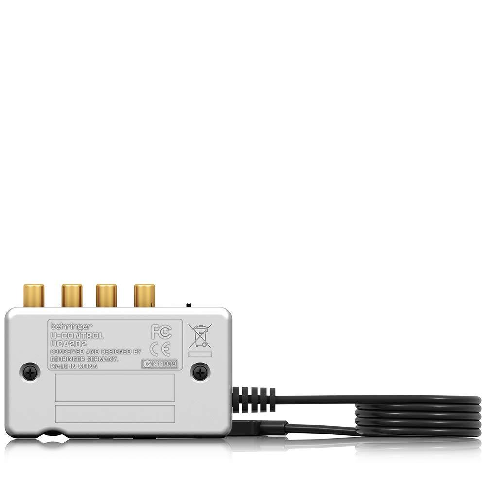 Interfaz de audio (48 kHz, USB)