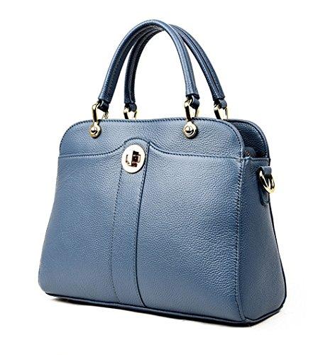 La Moda GWQGZ Hombro Nuevo Del De Superior De Tendencia Blue Calidad La Bolso Bolso De De Negro De Las Señoras TrBxwETqa