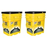 Purina Tidy Cats Clumping Litter 4-in-1 Strength for Multiple Cats 35 lb. Pail (2 Pail)